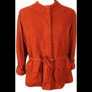 Saturday Sunday Anthropologie Jacket Sz.(L) Rust